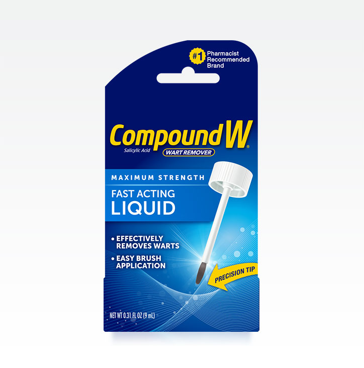 Compound W® Fast Acting Wart Removal Liquid