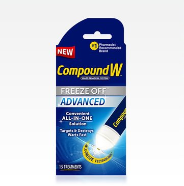 Compound W® Advanced Freeze Off® Wart Removal
