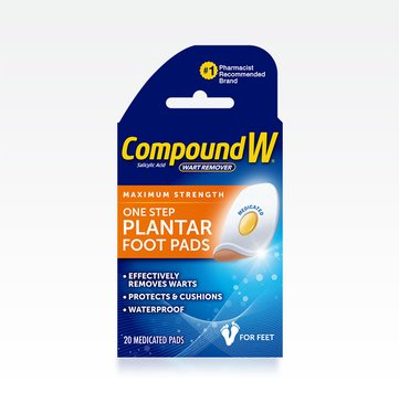 Compound W® Plantar Wart Removal Foot Pad