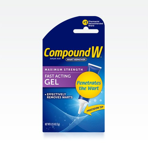 Compound W® Fast Acting Wart Removal Gel